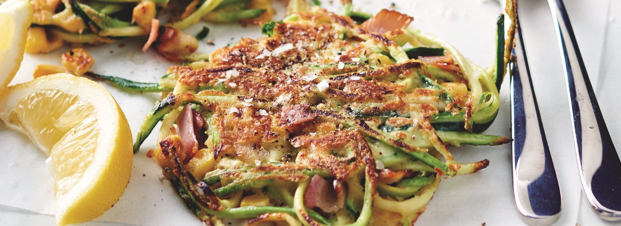 Pancetta and Vegetable Fritters Recipe